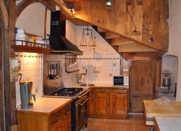 Gite la mare sala location de gites ruraux en corr ze for Piano cuisine professionnel